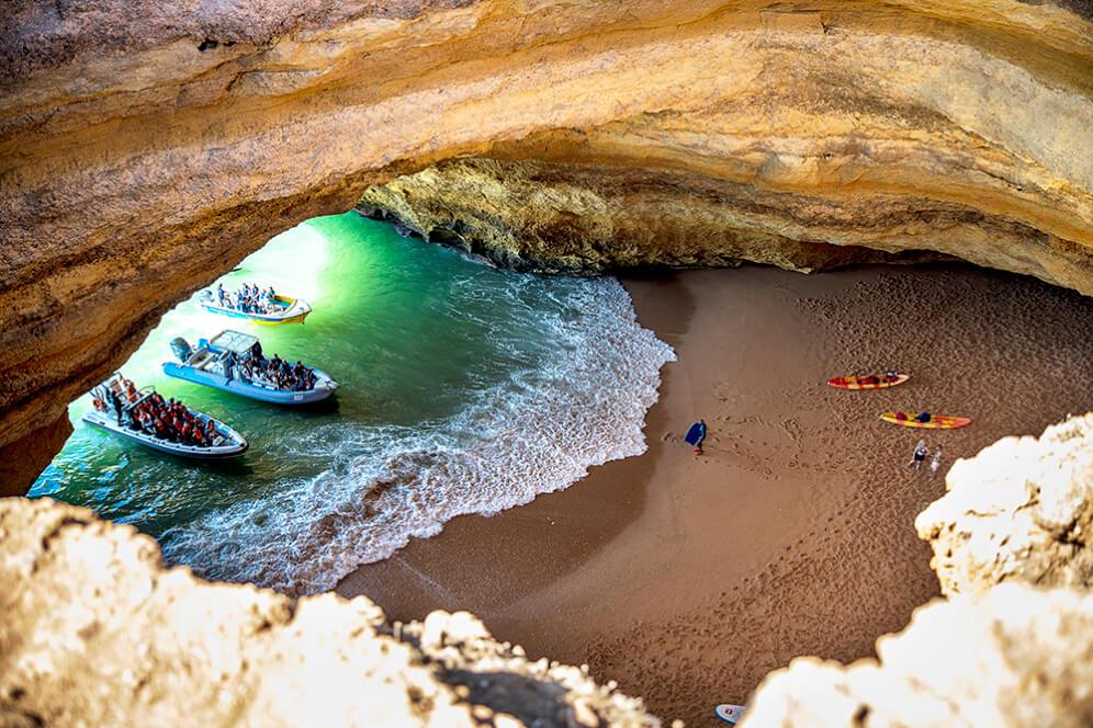 Пещерата Бенагил, Португалия