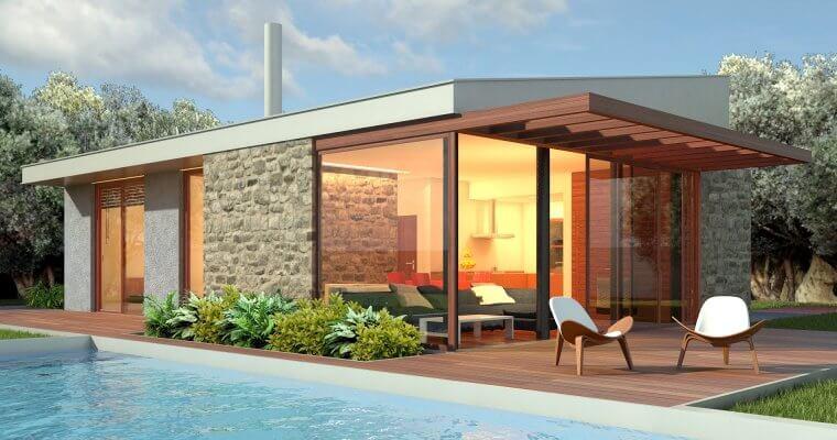 Нискоенергийните къщи впечатляват не само с визия и архитектура